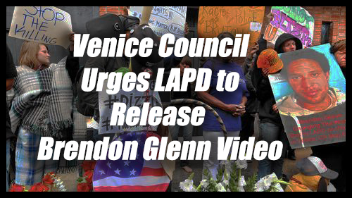Venice Council LAPD Brendon Glenn Video