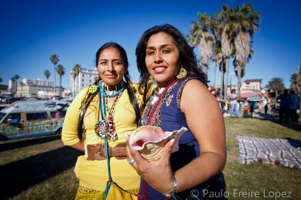 Indigenous peoples day venice calofornia