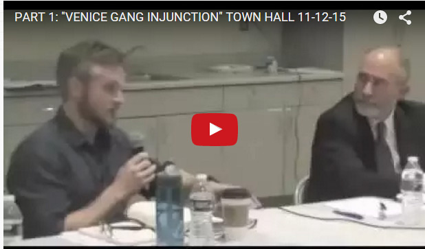 Venice< CA Injunction Townhall