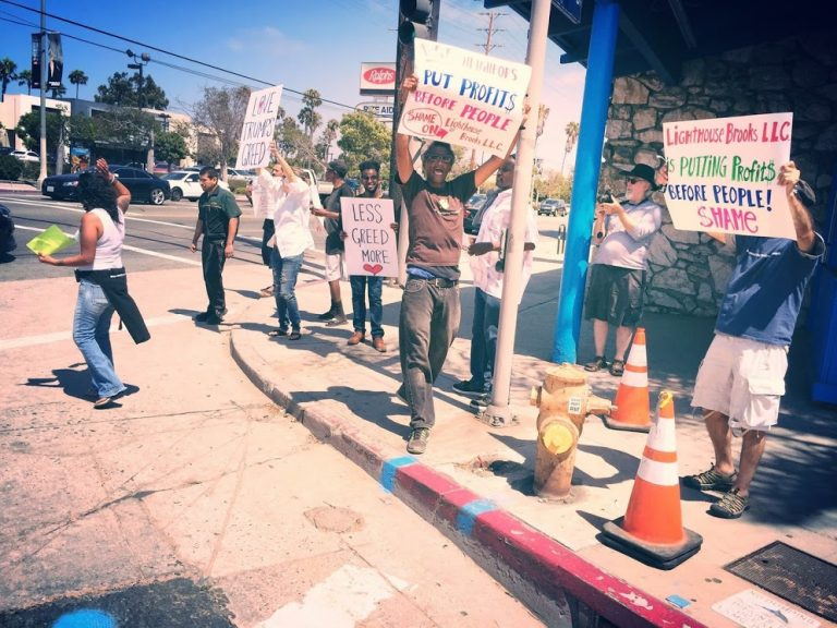 Venice, CA Gentrification Protest